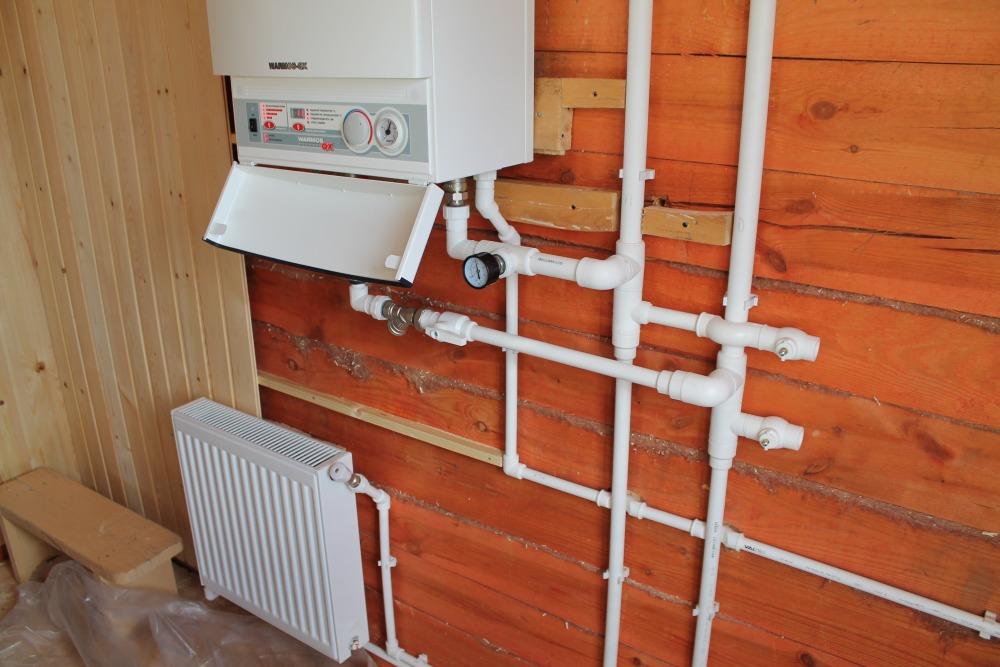 Отопление дома при помощи электрокотла