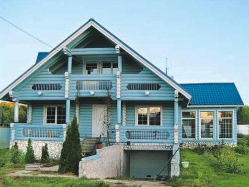 Краска для деревянных фасадов обеспечит наилучший вид вашему дому
