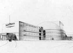 Рисунок здания перед строительством