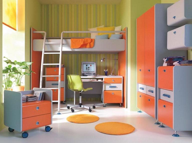 Экологически чистые материалы для детской комнаты мальчика