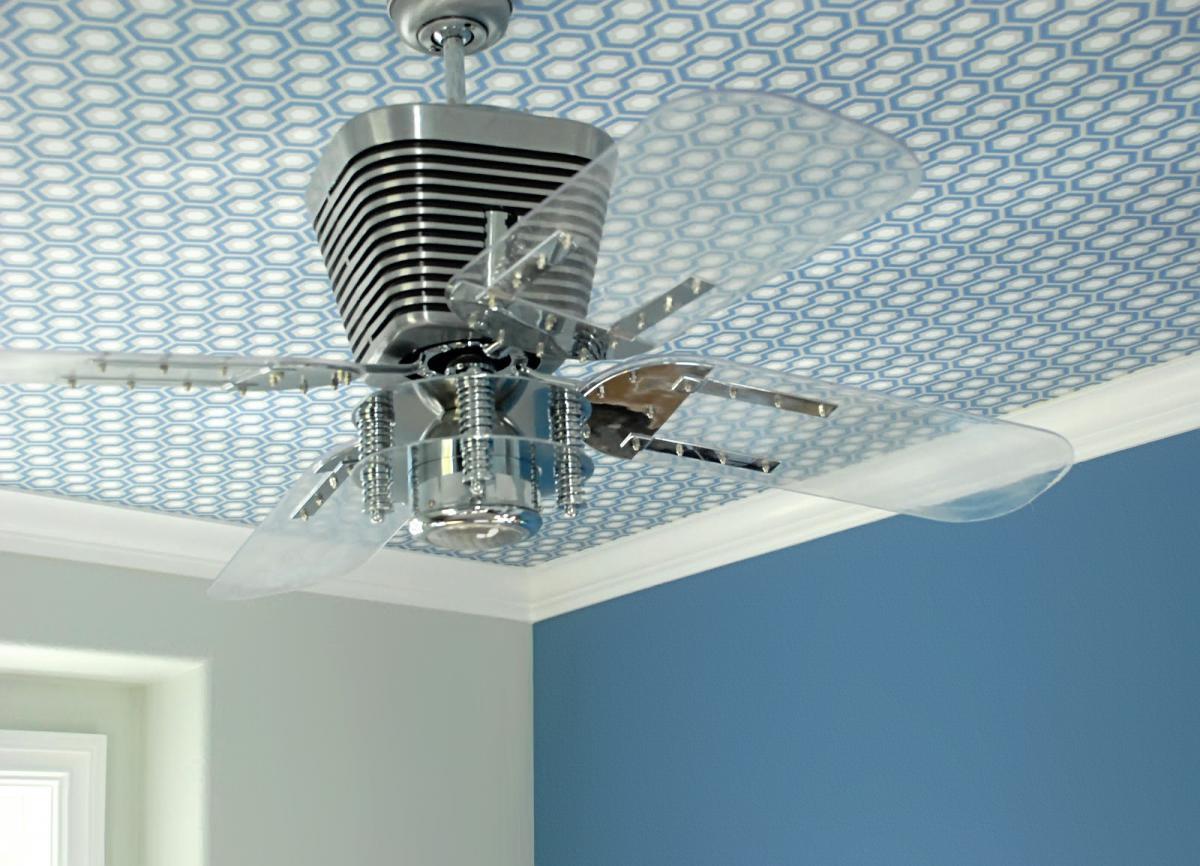 Дизайнерские решения в отделке потолка