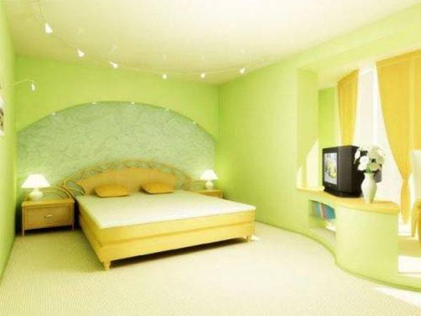 Комбинирование с разделением пространства спальни