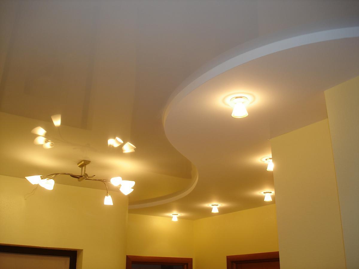 Светильники для гипсокартонного потолка