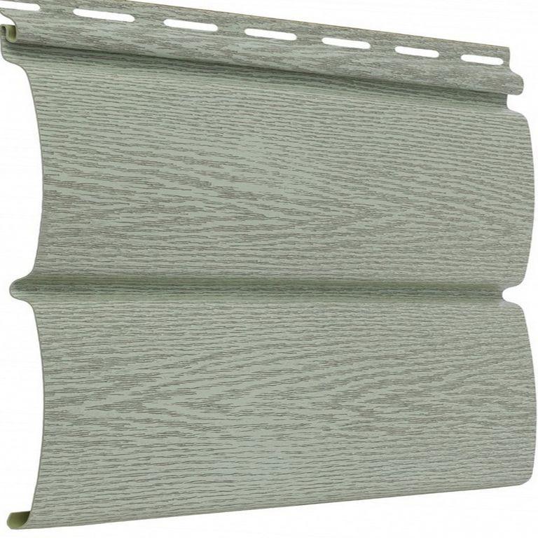 Панель сайдинга серого цвета с текстурой