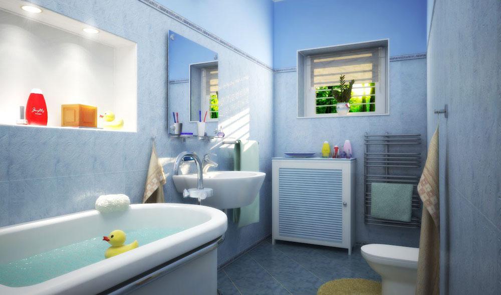 Ванной комната после ремонта