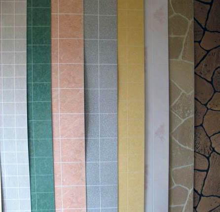Разнообразие цветов облицовки для стен