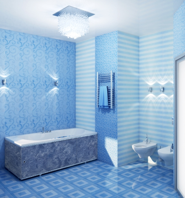 Варианты отделки ванной комнаты пластиковыми панелями
