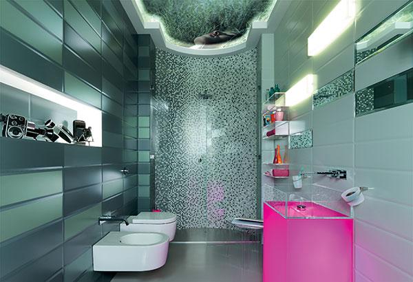 Различные варианты отделки ванной комнаты